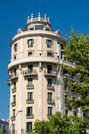 catalunya: Barcelona (Catalunya, Spain): building in the Avinguda del Paral-lel