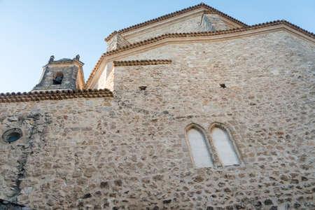 cuenca: Cuenca (Castilla-La Mancha, Spain), historic church  in the oldest part of the city