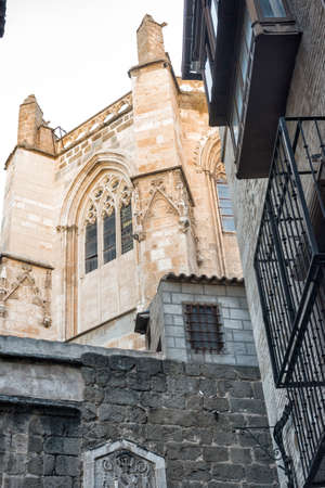 mancha: Toledo (Castilla-La Mancha, Spain): exterior of the medieval cathedral, in gothic style