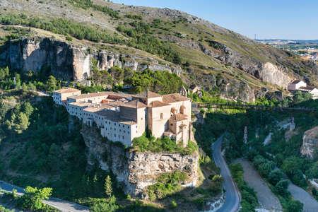 mancha: Cuenca (Castilla-La Mancha, Spain), the historic convent of San Pablo, nowadays the parador de Cuenca Editorial