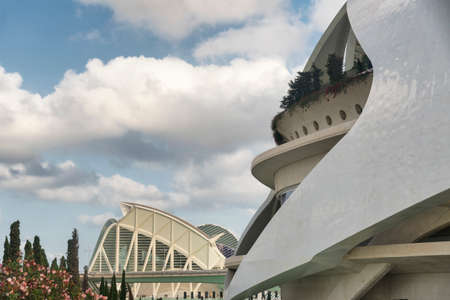 felix: Valencia (Spain), the City of Arts and Sciences, projected by Santiago Calatrava and Felix Candela