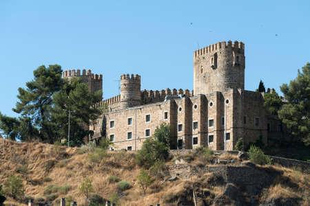 mancha: Toledo (Castilla-La Mancha, Spain): historic castle near the Alcazar