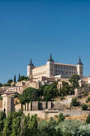 mancha: Toledo (Castilla-La Mancha, Spain): the Alcazar, historic castle