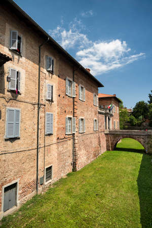 Fagnano Olona (Varese, Lombardy, Italy): the medieval castle, built in the 15th century
