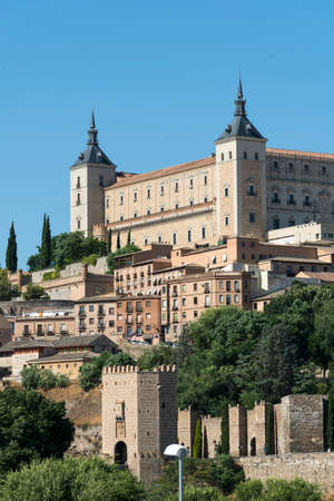 Toledo (Castilla-La Mancha, Spain): the Alcazar, historic castle