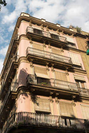 Barcelona (Catalunya, Spain): residential palace in the gothic quarter