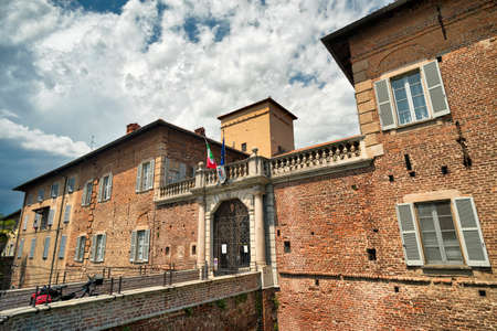 15th: Fagnano Olona (Varese, Lombardy, Italy): the medieval castle, built in the 15th century