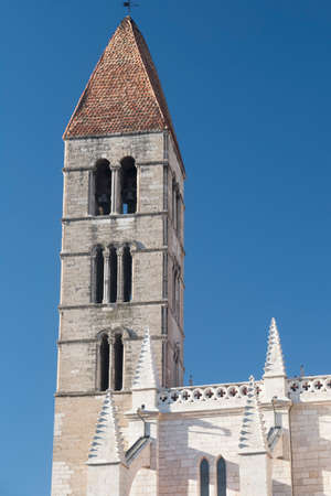 Valladolid (Castilla y Leon, Spain): medieval church of Santa Maria la Antigua