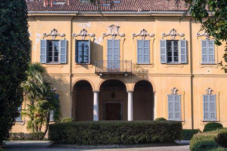 Costa Lambro (Monza Brianza, Lombardy, Italy): the historic Villa Stanga Busca Borromeo, exterior