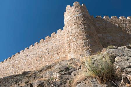 Avila (Castilla y Leon, Spain): the famous medieval walls surrounding the city