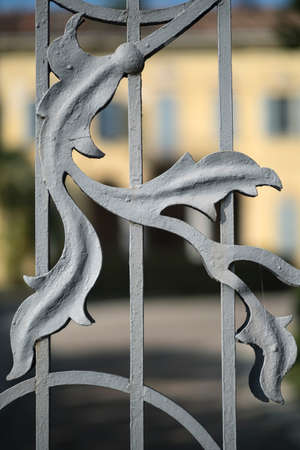 detail of the gate