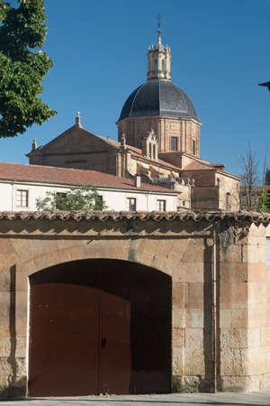 Salamanca (Castilla y Leon, Spain): exterior of the historic church known as Capilla de la Vera Cruz