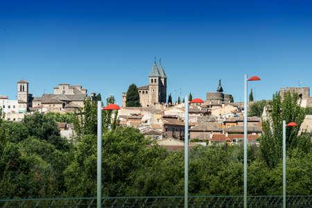 Toledo (Castilla-La Mancha, Spain): cityscape, the medieval city