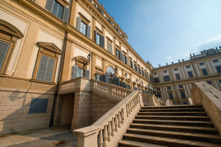 monza: Monza (Brianza, Lombardy, Italy) - Royal Palace, the exterior