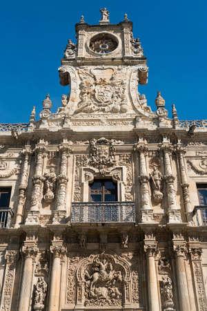 Leon (Castilla y Leon, Spain): the historic San Marcos palace, built in 16th century, nowadays hosting the Parador