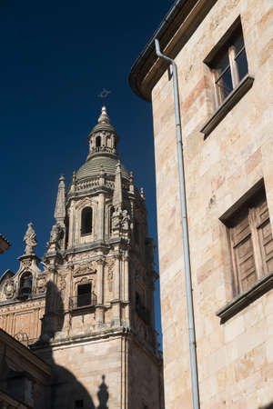 Salamanca (Castilla y Leon, Spain): one of the two towers of the Clerecia church