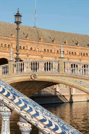 portico: Sevilla (Andalucia, Spain): the square known as Plaza de Espana