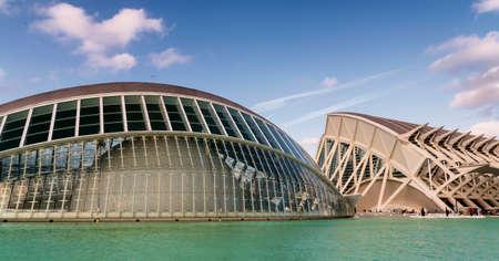 발렌시아 (스페인), 예술 및 과학 도시, 산티아고 칼라 트라 바 (Santiago Calatrava)와 펠릭스 칸델라 (Felix Candela) 에디토리얼