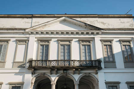 17th: Monza (Brianza, Lombardy, Italy): exterior of Villa Mirabello, historic palace built in 17th century
