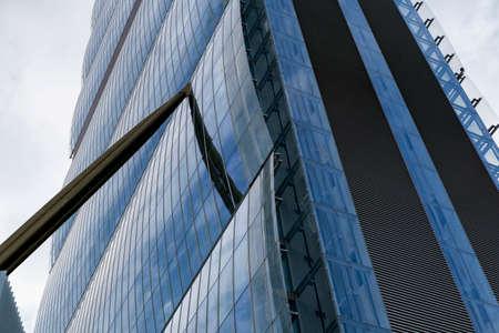 torri: Milan (Lombardy, Italy): the skyscraper known as Allianz Building in the new CItylife area (Tre Torri)