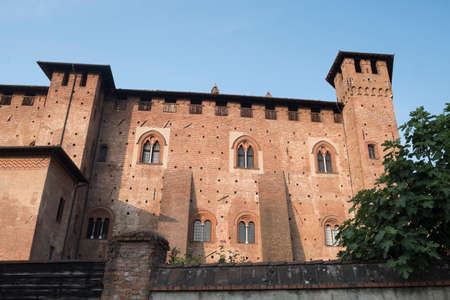 SantAngelo Lodigiano (Lodi, Lombardy, Italy): the medieval castle, exterior