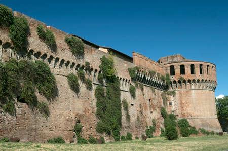 imola: Imola (Bologna, Emilia Romagna, Italy): the medieval castle, exterior