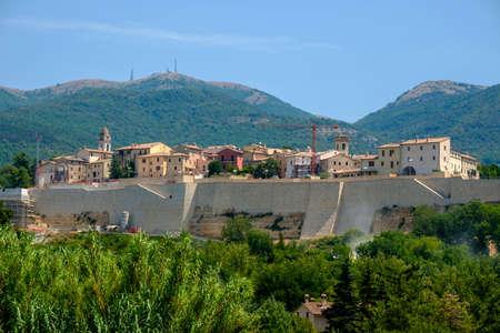 Massa Martana, Perugia, Umbria, Italy: historic city Stock Photo