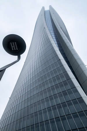 Milan, Lombardy, Italy: the Hadid tower at Citylife