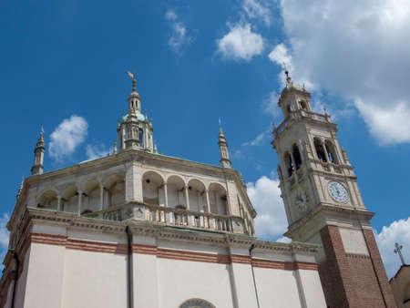 Busto Arsizio, Varese, Lombardy, Italy: the historic church of Santa Maria in Piazza
