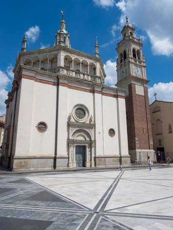 Busto Arsizio, Varese, Lombardy, Italy: the historic church of Santa Maria in Piazza Editoriali