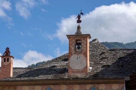 Santa Maria Maggiore, Verbano Cusio Ossola, Piedmont, Italy: historic building in the old town
