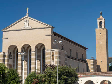 Latina, Lazio, Italy: Cathedral of San Marco, built in 1932
