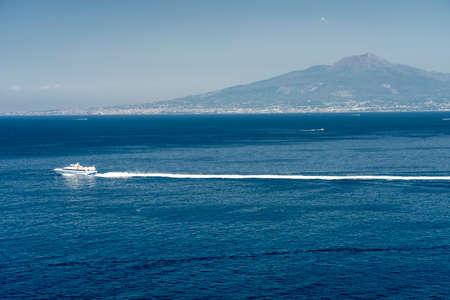 Sorrento, Naples, Campania, Italy: view of the coast at summer
