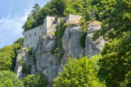 Medieval monastery of La Verna, in the Arezzo province, Tuscany, Italy