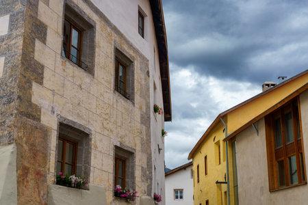 Glorenza, or Glurns, Bolzano, Trentino Alto Adige, Italy: historic city in the Venosta valley. Archivio Fotografico