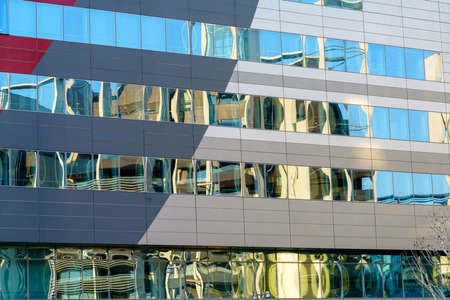 Milan, Lombardy, Italy: exterior of modern office building at Portello area