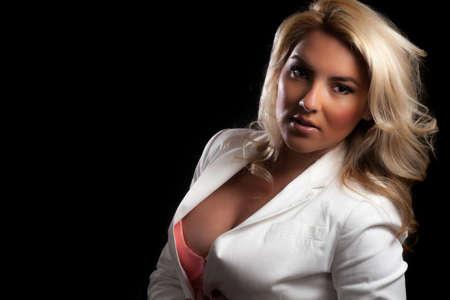 Busty Blonde Latina