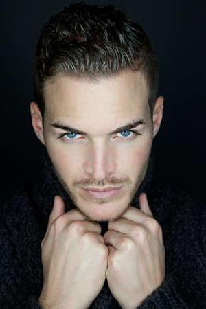 Portrait of a beautiful young man Standard-Bild