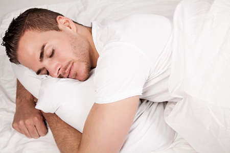 soporific: sleeping beautiful man