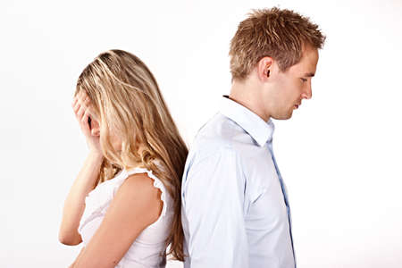 relationship problems Standard-Bild