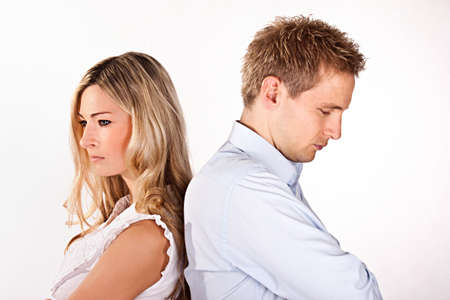 some: relationship problems Stock Photo