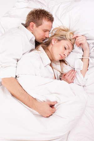 sleeping couple Stock Photo - 19590711