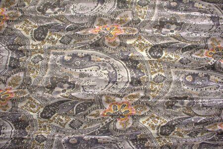 Fabrics with fantasy prints, wefts, warp
