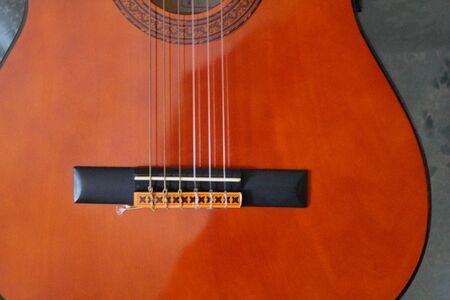 Classical guitar, detail