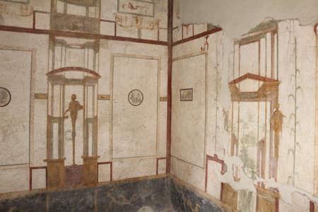 Pompeii city, archaeological excavations