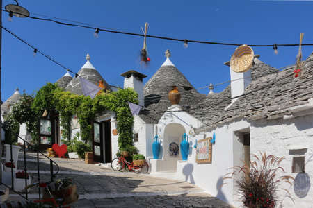 Trulli of Alberobello The trullo is a type of conical construction in traditional dry stone of central-southern Puglia. Trulli were generally built as temporary shelters in the countryside or perman