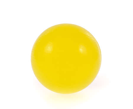 Color ball isolated on white background Standard-Bild