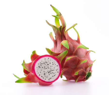 Dragon fruit isolated on white background Imagens - 30837740