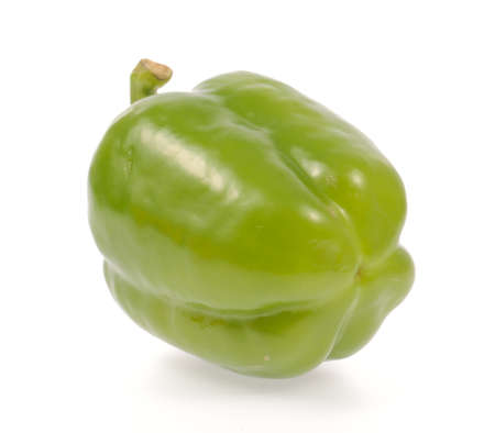 bell pepper isolated on white background photo