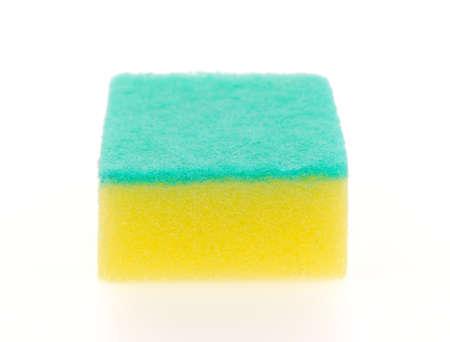sponge isolated on a white background photo
